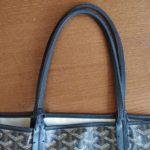 【ゴヤールの修理】バッグの持ち手や財布のファスナー交換、破れなどのリペア