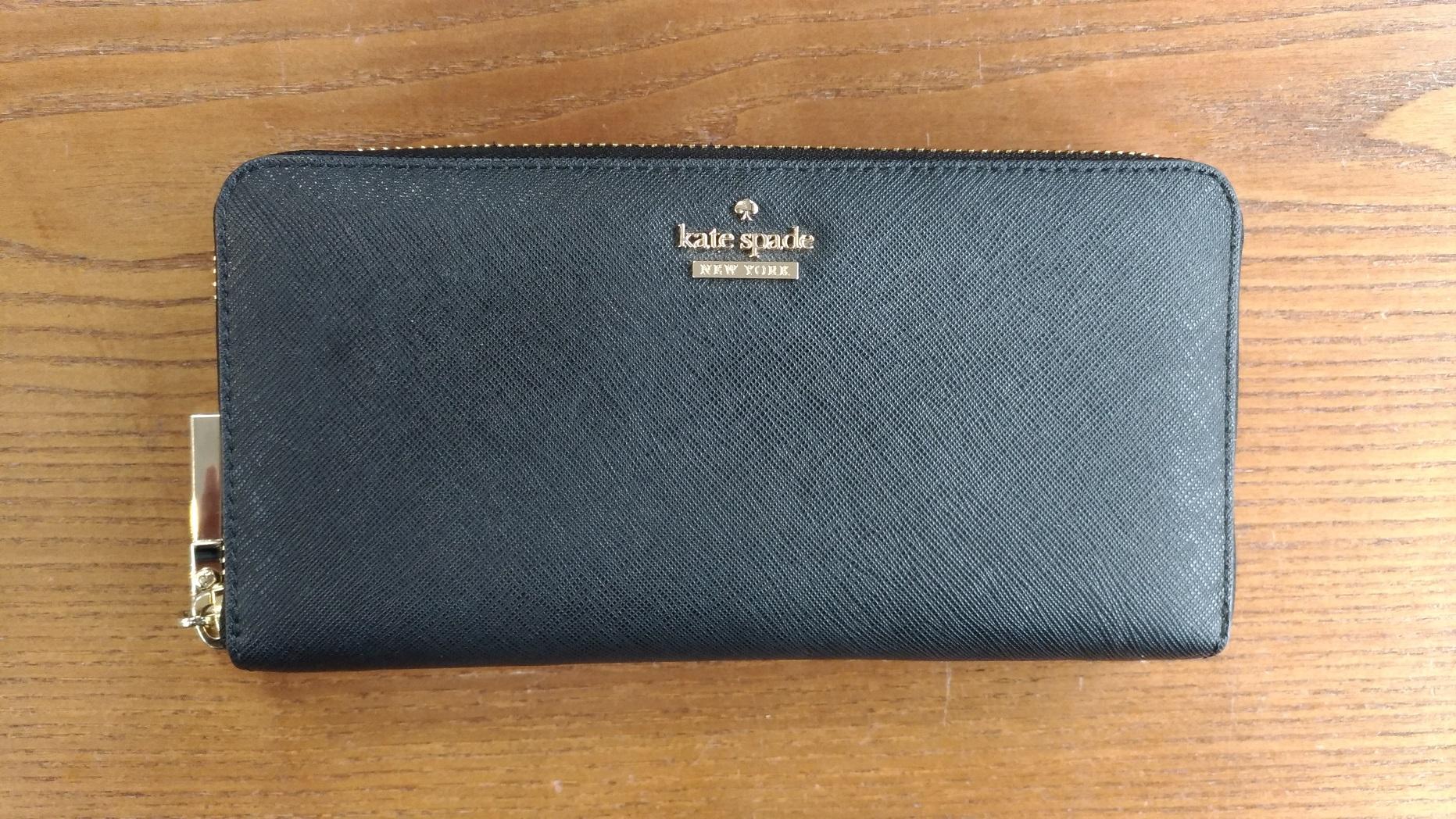 ケイトスペード長財布