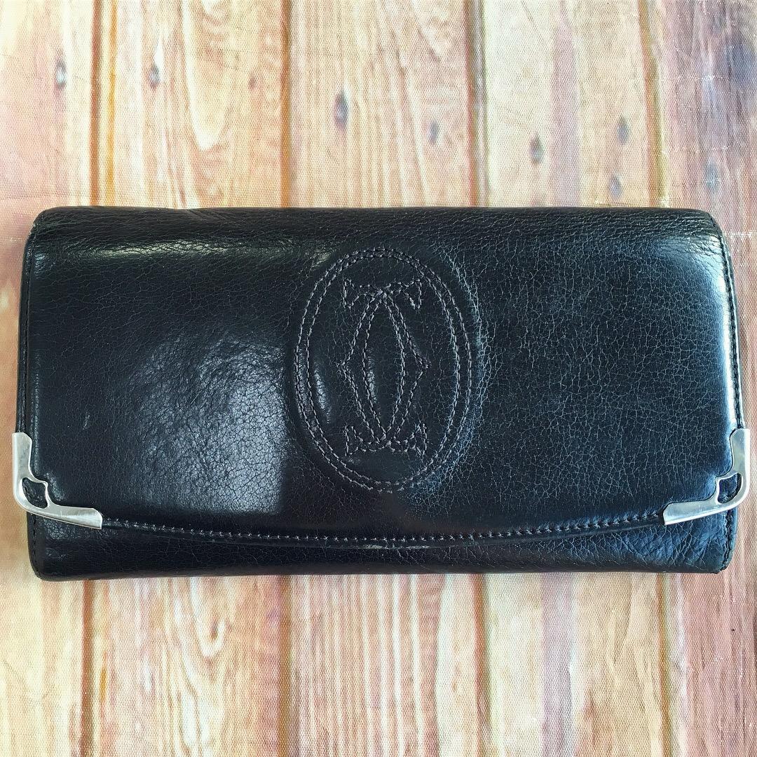 メンズのカルティエ長財布