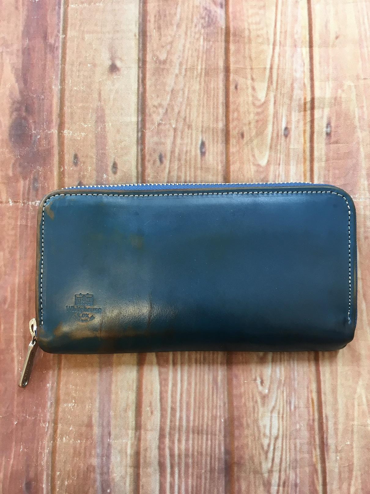 ホワイトハウスコックスの財布修理について修理職人が解説します