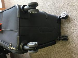 ダブルキャスター スーツケース