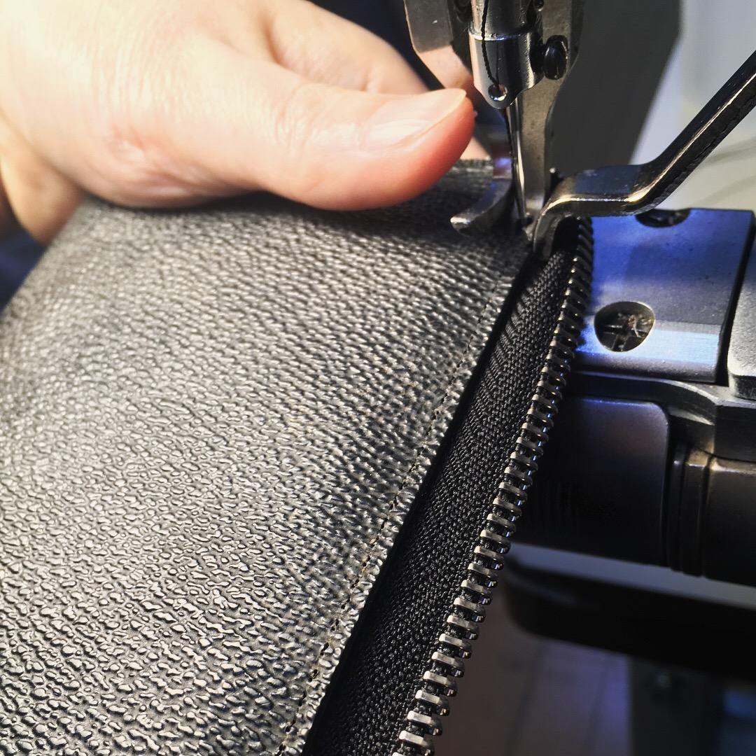 財布修理工程